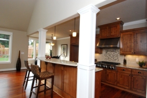 Kitchen Island Includes Eating Bar